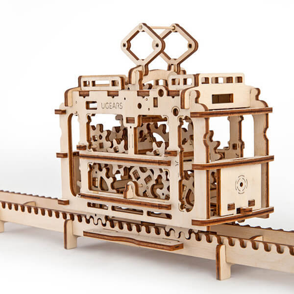 【海思】Ugears 自我推進模型 - 輕軌電車