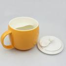 《吉茶園》隨意杯 時尚創意造型陶瓷茶杯/濾口杯(300ml)