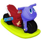 寶貝樂 小爵士摩托車造型學步助步車附搖搖板(紅)【CA-17R-A】(BTCA17RA)
