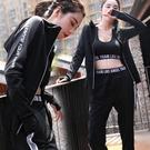 大碼健身瑜伽服套裝女專業運動服健身房跑步寬鬆速干衣 潮 麥琪精品屋