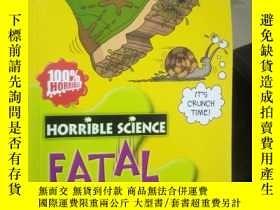 二手書博民逛書店Fatal罕見Forces (Horrible Science)