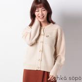 ❖ Winter ❖ 花朵刺繡麻花辮針織罩衫 (提醒➯SM2僅單一尺寸) - Sm2