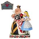 【正版授權】Enesco 愛麗絲與紅心皇后 塑像 公仔 精品雕塑 愛麗絲夢遊仙境 迪士尼 Disney - 282432