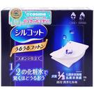 日本 Unicharm絲花 潤澤化妝棉(40枚入)【小三美日】