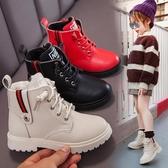 女童靴 女童馬丁靴2020年秋冬季新款時尚大棉皮靴兒童男童加絨棉鞋皮靴【新年禮物】