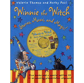 [麥克書店】WINNIE THE WITCH /巫婆與黑貓英文繪本合輯附CD ※第三 集
