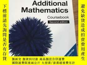 二手書博民逛書店Cambridge罕見IGCSE� And O Level Additional Mathematics Prac