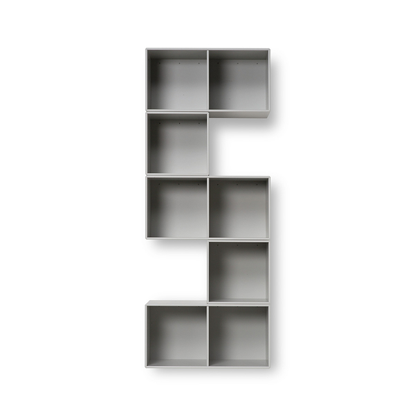 Montana Bend Sculptural Shelving and Display 曲折系列 八格 壁面收納系統