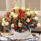 客廳臥室餐桌茶幾擺件假花藝裝飾絹花 人造...