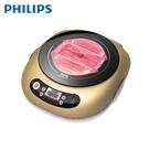【現貨供應中】[PHILIPS 飛利浦]不挑鍋黑晶爐-金 HD4990