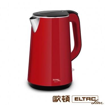 ELTAC雙層防燙不鏽鋼快煮壺 1.7公升 EBK-19