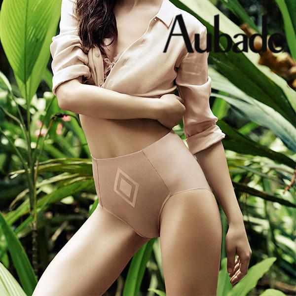 Aubade-無痕M-L中高腰機能褲(膚)AE