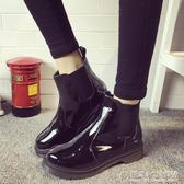 秋冬平底靴子學生厚底女靴機車馬丁靴女英倫風短靴女鞋 概念3C旗艦店