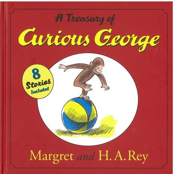 (二手書)The Treasury Of Curious George