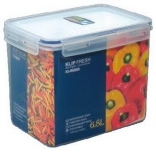 【Keyway】KI-R6800天廚長型保鮮盒6.8L