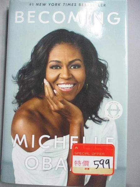 【書寶二手書T1/原文書_MGH】Becoming_Obama, Michelle