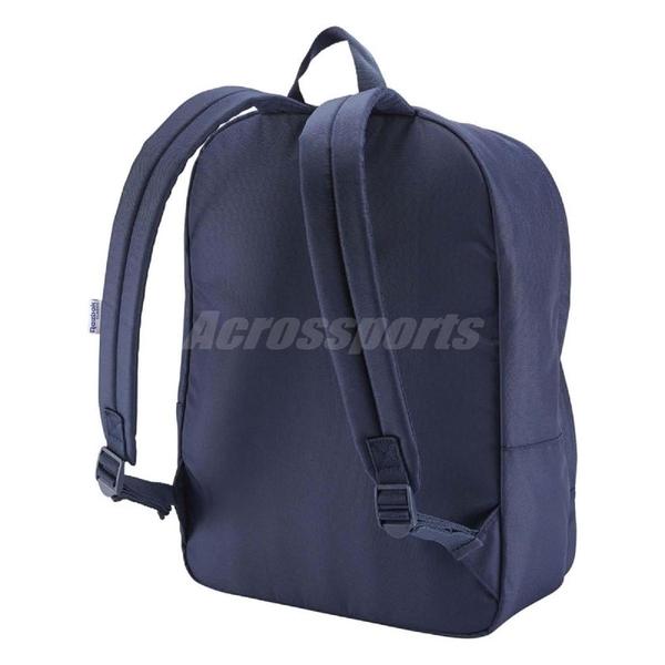 Reebok 後背包 Lost Found Vector BP 深藍 紅 白 大LOGO 男女款 包包 【ACS】 DH3549