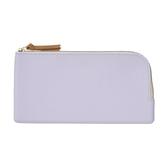 日本 LIHIT LAB Bloomin系列 FLAT 平式小袋 扁平包 (筆合尺寸) 收納包 -紫色 【金玉堂文具】