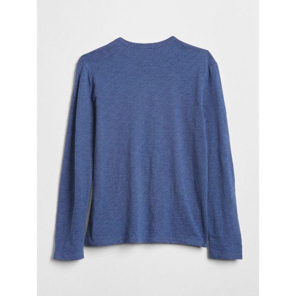 Gap x Disney男童 迪士尼系列 純棉圖案長袖T恤 370587-沽藍色