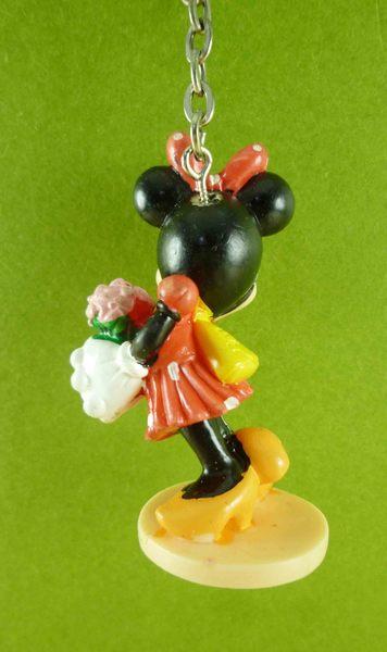【震撼精品百貨】Micky Mouse_米奇/米妮 ~鎖圈-米妮拿花