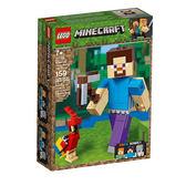 【LEGO 樂高積木】Minecraft系列-史蒂夫與鸚鵡(8) LT-21148