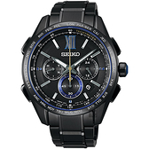SEIKO 精工 Brightz 135週年限量鈦計時太陽能電波腕錶 8B92-0AR0SD(SAGA227J)
