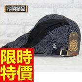 鴨舌帽-明星款日韓時尚精緻男貝雷帽3色57j13【巴黎精品】
