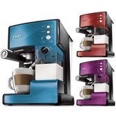美國OSTER 奶泡大師義式咖啡機 BVSTEM6602(B)藍 PRO升級版 ◤贈咖啡豆◢
