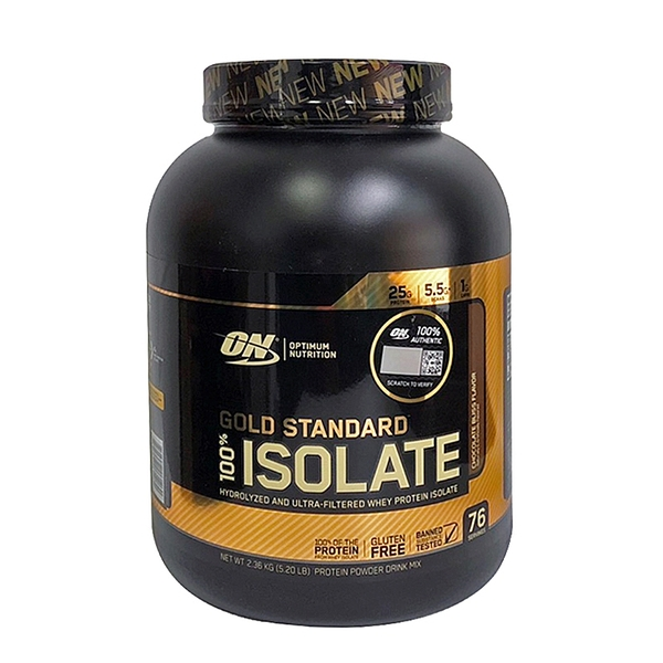 Optimum Nutrition ISOLATE 金牌水解分離乳清蛋白5磅(公司貨)
