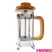 《HARIO》橄欖木濾壓咖啡壺 / CPSW-2-OV / 300ml