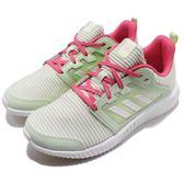 adidas 慢跑鞋 Climacool Vent J 綠 白 舒適涼感設計 運動鞋 女鞋 大童鞋【PUMP306】 DB0740