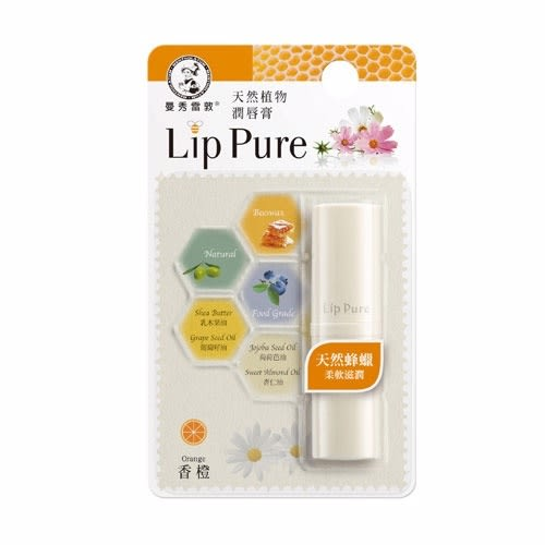 【MENTHOLATUM曼秀雷敦】Lip Pure潤唇膏 (香橙)