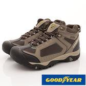 【GOODYEAR】男探險家-戶外護趾靜態防水鞋-GAMO73434-灰-男段-0