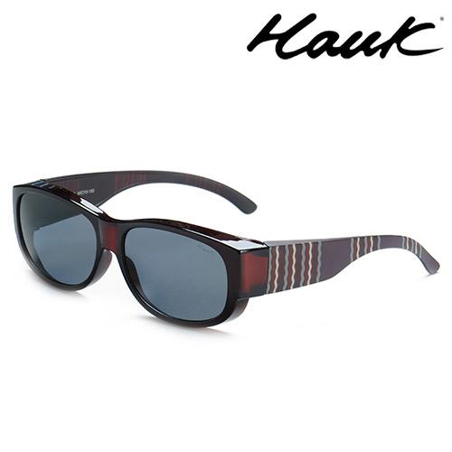 HAWK偏光太陽套鏡(眼鏡族專用)HK1002-43