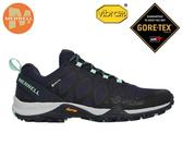 丹大戶外 美國【MERRELL】Siren3 GTX女鞋 登山 越野 防潑水 黃金大底 藍綠 ML034282