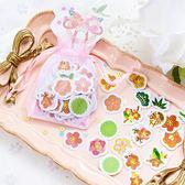 【BlueCat】糖詩櫻花粉紗袋貼紙