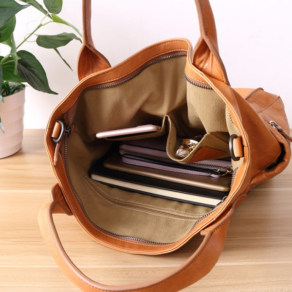 【Solomon 皮件設計】時尚手工牛皮三用包 托特包 手提包 媽咪包 真皮媽媽包  81B08