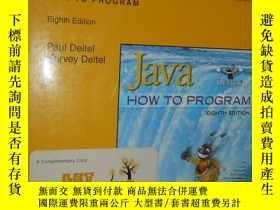 二手書博民逛書店Java罕見How to Program 英文原版 有光盤 16