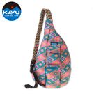 【西雅圖 KAVU】Rope Bag 休閒肩背包 菱形地毯 #923