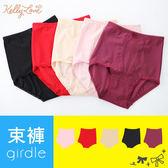 平滑高腰機能束褲.提臀透氣‧高彈性布料.5色【6250】凱莉愛內衣