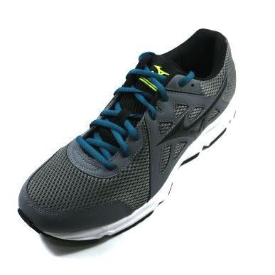 MIZUNO 美津濃 (男) SPARK 2 慢跑鞋 一般型 基礎鞋款- K1GA170309(灰X黑))陽光樂活]