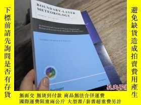 二手書博民逛書店boundary-layer罕見meteorology volu