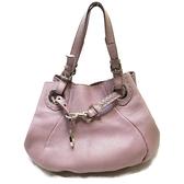 FENDI 粉紫色牛皮肩背包#AU39791 【二手名牌BRAND OFF】