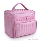 牛津布化妝包大容量便攜洗漱包旅行化妝品收納包可水洗化妝袋防水『夢露時尚女裝』