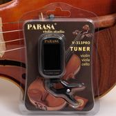 譜樂詩PARASA小提琴調音器 中提琴專業版校音器V 313PRO 簡單易用 薔薇時尚