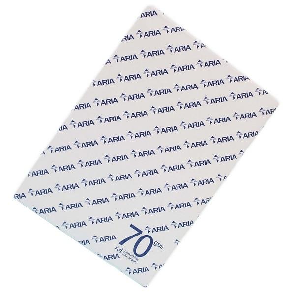 ARIA A4影印紙 70磅 白色影印紙/ 2大箱10包入(一包500張)共5000張入 70磅影印紙-文