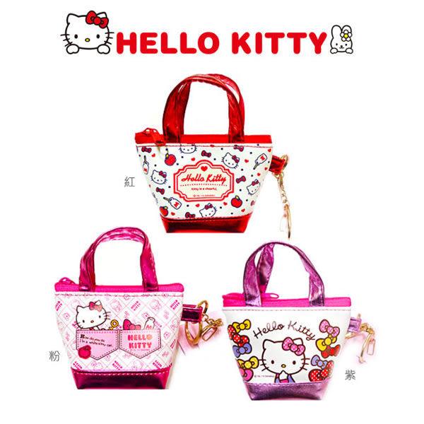 里和Riho HelloKitty 凱蒂貓側背包樣式零錢包 外出包 收納包 吊飾 三麗鷗