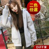 【DIFF】韓版經典運動連帽外套 運動外套 棒球外套 連帽外套大學外套 連帽上衣 大學T【J32】