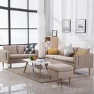 北歐布藝沙發組合小戶型客廳整裝套裝雙人三人位簡約現代家具沙發YTL