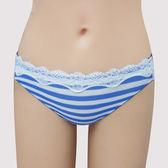 【瑪登瑪朵】S-Select條紋  低腰三角萊克褲(條紋藍)(未滿4件恕無法出貨,退貨需整筆退)